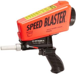 Unitec speed blaster gravity feed sandblaster.