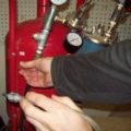 operating pressure pot sandblaster