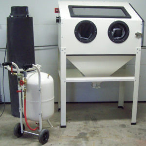 artistic sandblasting equipment