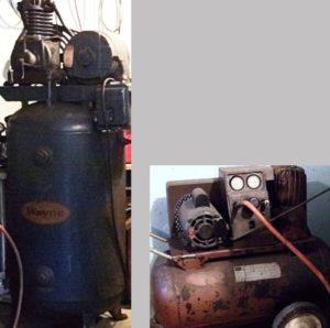 air compressors in tandem