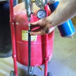 Air hose fix instead of replacing.