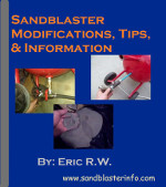 Fix your sandblaster cover of plans.