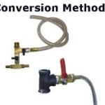 Conversion options for making a soda blaster.