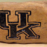 UK college logo rock engraved