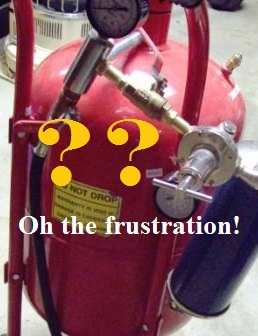 Why is the Sandblaster Surging and Clogging? | Oh the Frustration
