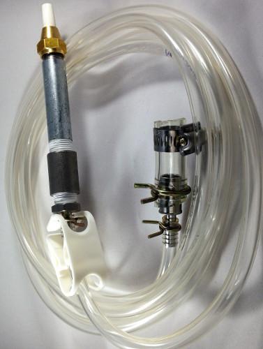 Pressure Pot Nozzle & 1/4″ Reduced Hose Kit